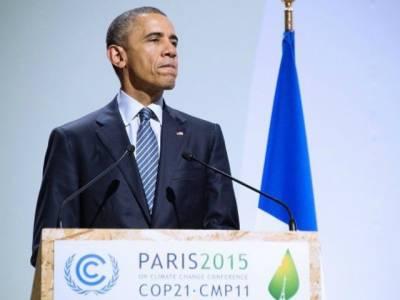 ماحولیاتی تبدیلیوں سے انسانی بقا کوخطرات لاحق ہیں، متحد ہوکر اپنے بچوں کو آلودہ ہونے سے بچانا ہوگا۔ اوباما