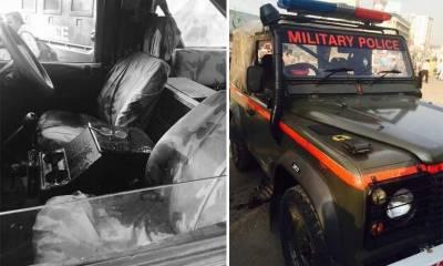 ایم اے جناح روڈ پر فائرنگ , ملٹری پولیس کے دو اہلکار شہید ، دہشت گرد کارروائی کے بعد فرار