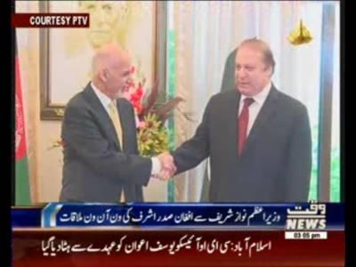 وزیراعظم نواز شریف سے افغان صدر اشرف غنی نے ون آن ون ملاقات, ہارٹ آف ایشیا کانفرنس کے شرکا کے اعزا
