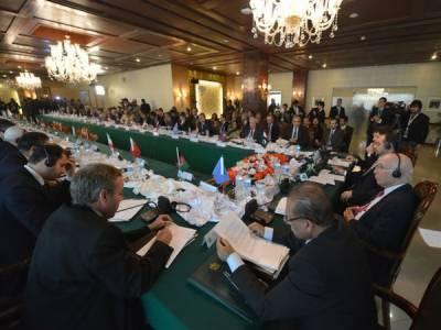 اسلام آباد میں ہارٹ آف ایشیا کانفرنس ,شرکاء نے مستحکم اور پرامن افغانستان کے لیے ہر ممکن تعاون کا یقین دلایا