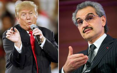 سعودی شہزادے ولید بن طلال نے امریکی صدراتی امیدوار ڈونلڈ ٹرمپ کو امریکہ کے لیے باعثِ ذلت قرار دیا