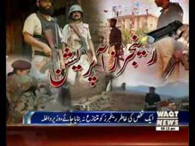 Federal Vs Sindh Government about Rangers issue