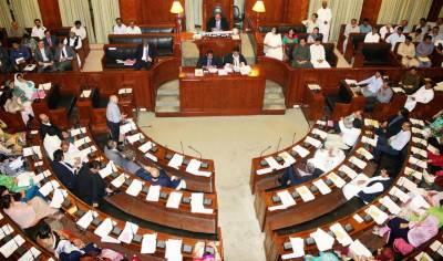رینجرز کے اختیارات میں توسیع کا معاملہ ایک بار پھر لٹک گیا، سندھ اسمبلی کا اجلاس پھر شور شرابے کی نذر ہو گیا
