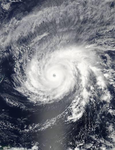 فلپائن میں سمندری طوفان