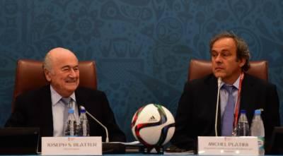 عالمی فٹبال تنظیم فیفا کے صدر سیپ بلیٹر اور نائب صدر مائیکل پلاٹینی پر کرپشن اسکینڈل ثابت, آٹھ سال کی پابندی عائد