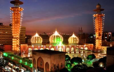 ملک بھر میں جشن عیدمیلادالنبی مذہبی جوش وجذبے کےساتھ منانے کیلئے تیاریاں عروج پرپہنچ گئیں،