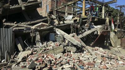 بھارتی ریاست منی پور میں چھ اعشاریہ سات شدت کے زلزلے نے تباہی مچا دی، عمارتیں ملبے کا ڈھیر بن گئیں