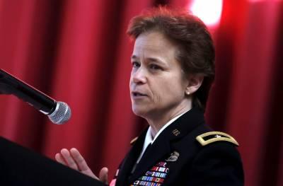 بریگیڈیر جنرل ڈیانا ہالینڈ کو امریکی فوجی تاریخ میں نیویارک کی ویسٹ پوائنٹ فوجی اکیڈمی کی پہلی خاتون کمانڈنٹ بننے کا اعزاز حاصل ہو گیا