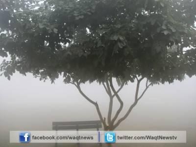 پنجاب کے مختلف علاقوں میں دوسرے روز بھی دھند کا راج رہا، حد نگاہ انتہائی کم۔