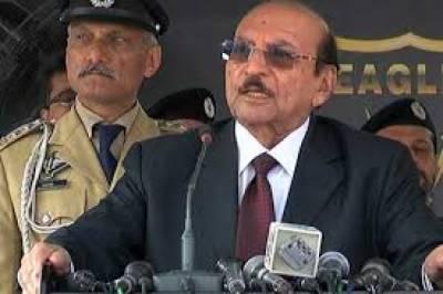 سندھ کے عوام کا تحفظ ہماری ذمہ داری ہے۔ کراچی میں امن کے لیے پولیس نے اچھا کردارادا کیا: قائم علی شاہ