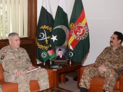 آرمی چیف جنرل راحیل شریف کا افغان قیادت اور افغانستان میں امریکی کمانڈر جنرل جان کیمبل کو فون,چارسدہ حملے میں ملوث دہشت گردوں کو کیفر کردار تک پہنچانے کے لیے تعاون طلب کیا