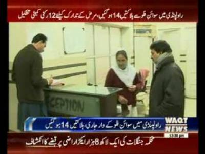 Influenza 14 Die of Swine Flu in Rawalpindi