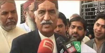 خورشید شاہ نے ملکی سیاست میں 1 مرتبہ پھر ہلچل مچادی