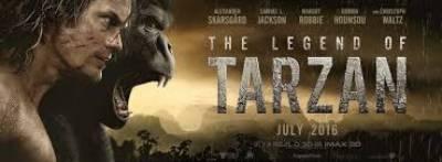 ہالی وڈ کی تھرل اور ایڈونچر سے بھرپور نئی تھری ڈی فلم 'دی لیجنڈ آف ٹارزن 'کا نیا ٹریلر جاری کر دیا گیا ہے