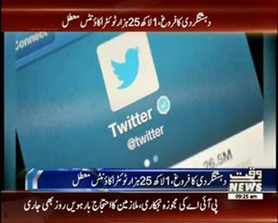 Twitter suspends 125,000 ISIL-related accounts