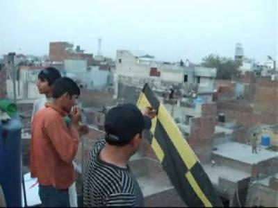 گوجرانوالہ میں پتنگ کی ڈور پھرنے سے نوجوان شدید زخمی ,شہر بھر میں نوجوانوں نے پتنگ بازی پر پابندی ہوا میں اڑا دی