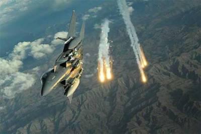 شمالی وزیرستان میں جیٹ طیاروں کی دہشتگردوں کے ٹھکانوں پر بمباری, پندرہ دہشتگرد ہلاک , آٹھ ٹھکانے تباہ