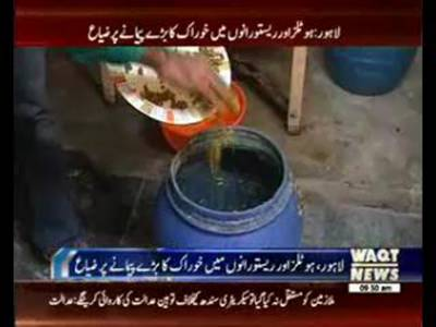 Food wastage of Hotels and Restaurants