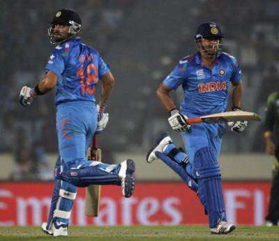 ٹی ٹوئنٹی ایشیا کپ میں بھارت کی پاکستان کیخلاف بیٹنگ جاری, گرین شرٹس صرف تراسی رنز کا مجموعہ جوڑ سکے