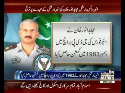 AVM Mujahid Anwar promoted as Air Marshal