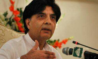 بھارتی حکومت کی جانب سے پاکستان کرکٹ ٹیم کو فول پروف سکیورٹی کی یقین دہانی نہیں کرائی جاتی، ٹیم بھارت نہیں جائے گی : وزیر داخلہ