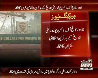 3 major vacants are still blank in lahore college for womens university since two years