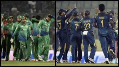 پاکستان نے ورلڈ ٹی ٹوئنٹی کی تیاری کیلئے واحد وارم اپ میچ میں سری لنکا کو پندرہ رنز سے شکست دے دی