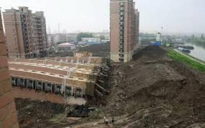 چین کےجنوب مشرقی شہرمیں عمارت گرنےسےایک شخص ہلاک جبکہ35 سےزائد زخمی ہوگئے