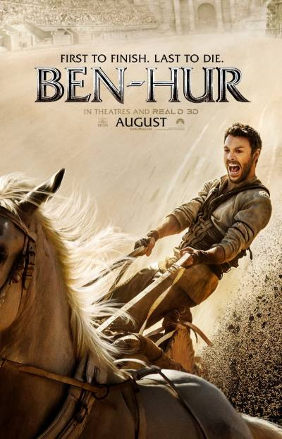 ایکشن، جنگ، شمشیرزنی کے ساتھ سنسنی سے بھرپورہالی وڈ فلم 'بین ہور'کا ٹریلر جاری
