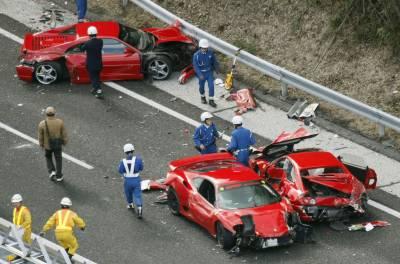 جاپان کے شہر ہیروشیما میں ٹریفک حادثہ , دو افراد ہلاک اور اسی سے زائد زخمی