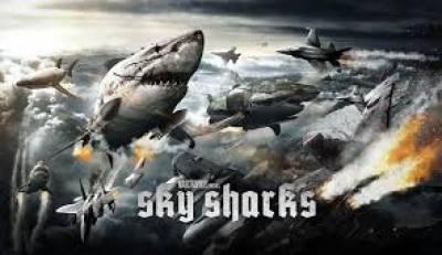 خوفناک شارکس کےمتعلق فلم 'سکائی شارکس'کاٹریلرجاری کردیاگیا