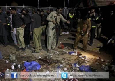گلشن پارک خودکش دھماکہ: بچوں اور خواتین سمیت72افراد جاں بحق،340سے زائد زخمی۔