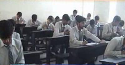 سندھ میں میٹرک امتحانات مذاق بن گئےانتظامیہ نقل مافیا کو لگام ڈالنےمیں ناکام ہوگئی