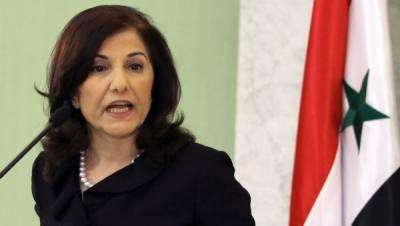 شامی صدرکی مشیر بوتاناشابان نےکہا ہےکہ ترکی دہشت گردی کاگیٹ وےہے