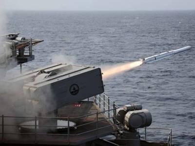 پاکستان نیوی نےساحل سےبحری جنگی جہازوں کو نشانےبنانےوالےمیزائلZarbکی لانچنگ کاکامیاب تجربہ کرلیا