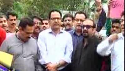 لاہورمیں پولیس گردی عروج پرپہنچ گئی.لاہورمیں صحافتی ذمہ داری نبھانےپروقت نیوزکی ٹیم پرتشدد