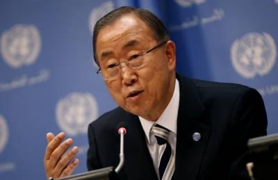 اگر پاکستان اور بھارت چاہیں تو اپنے تنازعات کو حل کرنے کیلیے اقوام متحدہ کی مدد حاصل کر سکتے ہیں : بانکی مون
