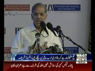 It is really Sad to say Patwari have become Billionaires: Shahbaz Sharif
