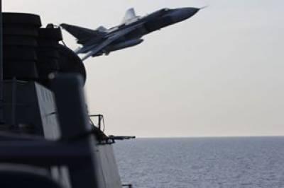 روسی طیاروں نےامریکی فوج میں تھرتھلی مچادی