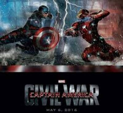 ہالی وڈکی نئی سپرہیروایکشن فلم'کیپٹن امریکاسول وار'کانیا کلپ جاری کردیاگیا