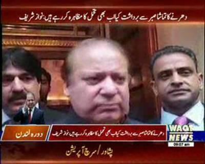 PM Muhammad Nawaz Sharif criticise Imran Khan in London
