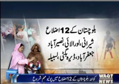 Polio Campaign started In balochistan