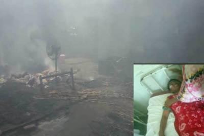 مظفر گڑھ میں شارٹ سرکٹ کےباعث گھرمیں آتشزدگی سے5بچوں اورخاتون سمیت6افرادجھلس کرجاں بحق جبکہ3زخمی ہوگئے