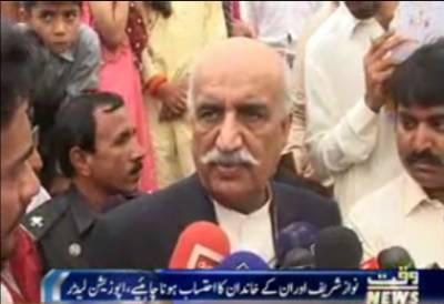 Khursheed Shah Media Talk