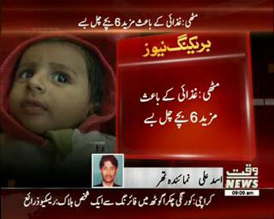 Six more dead in Thar due to malnourishment