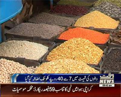 PM Muhammad Nawaz Sharif directs to reduce prices of pulses at Utility Stores