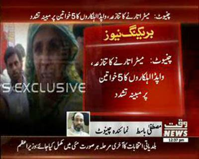 Torture of WAPDA Workers on Females in Chiniot