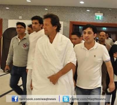 چیئرمین پی ٹی آئی عمران خان عمرے کی ادائیگی کے بعد اتوار کو وطن واپس لوٹیں گے۔