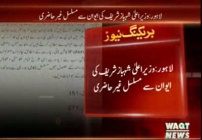 وزیراعلیٰ پنجاب کی ایوان سے مسلسل غیر حاضری , اپوزیشن نے قرار داد پنجاب اسمبلی میں جمع کرادی