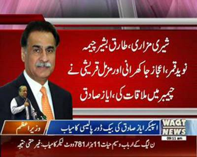 Ayaz Saqiq's Back Door Policy
